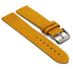 bracelet montre galuchat jaune 1 1
