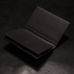 porte carte galuchat couleur noir aknas madoux 4 1
