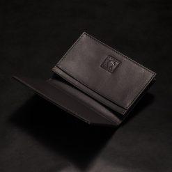 porte carte galuchat couleur noir aknas madoux 5