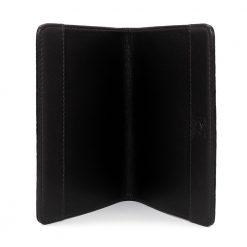 porte passeport galuchat noir 3