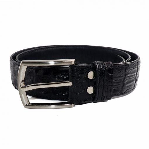 ceinture crocodile noir b 1