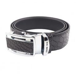 ceinture crocodile noir b