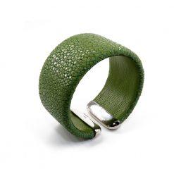manchette galuchat celadon 30mm