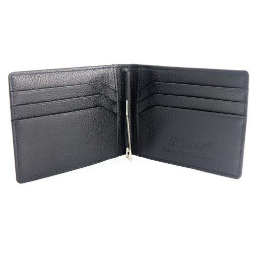 portefeuille money clip crocodile couleur noir 3