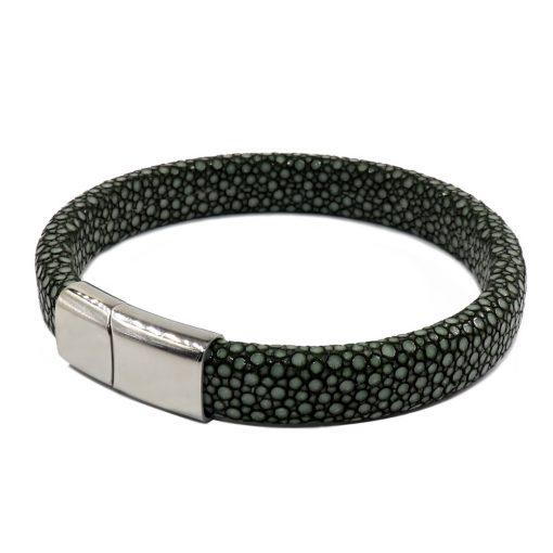 bracelet galuchat intergral 12mm vert