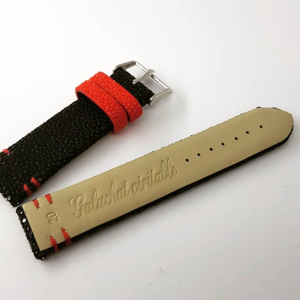 bracelet montre sur mesure bicolore 3