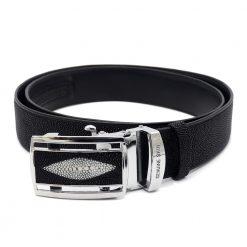 ceinture galuchat brut avec perle 2