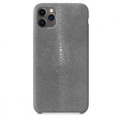 coque iPhone 11 pro gris