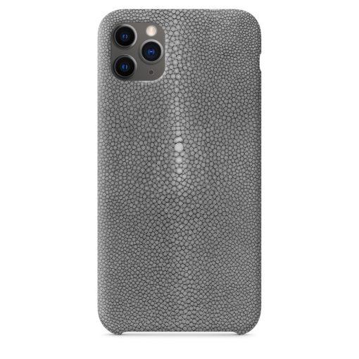 coque iPhone 11 pro gris