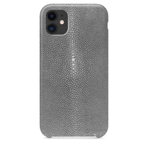 iPhone 11 gris galuchat