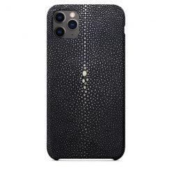iphone 11 pro galuchat noir