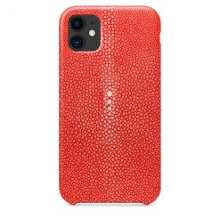 iphone 11 galuchat rouge