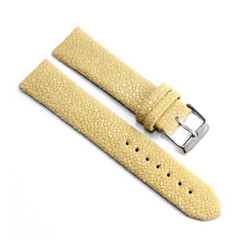 bracelet montre galuchat natural