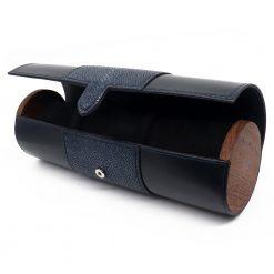 etui de voyage montre luxe cuir galuchat 1 long mixte
