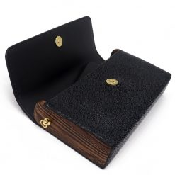 petit sac galuchat noir 2