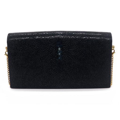 petit sac galuchat noir 6