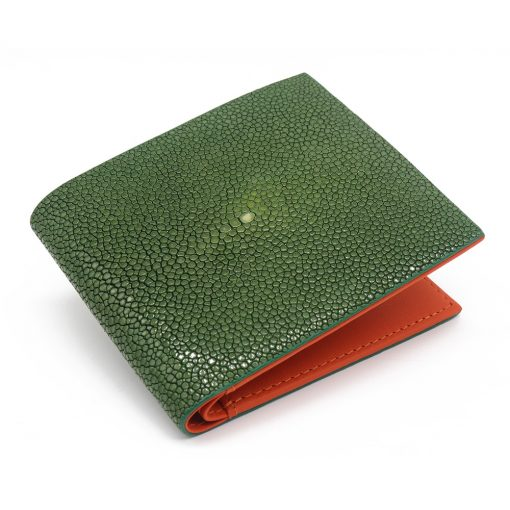 portefeuille galuchat signature mdg emeraude limited 2