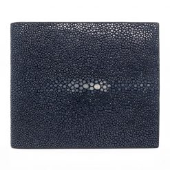 portefeuille galuchat signature mdg navy 2022 1